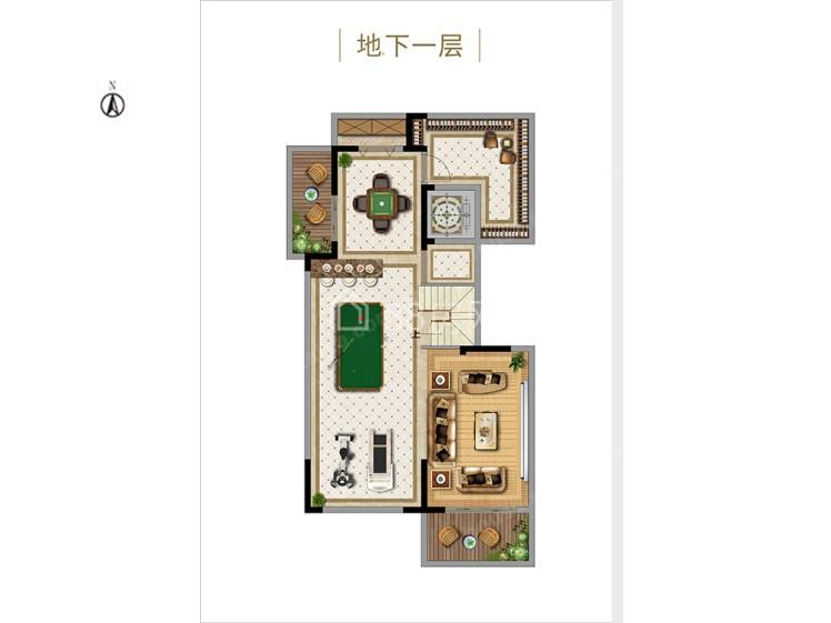 下叠4室2厅3卫