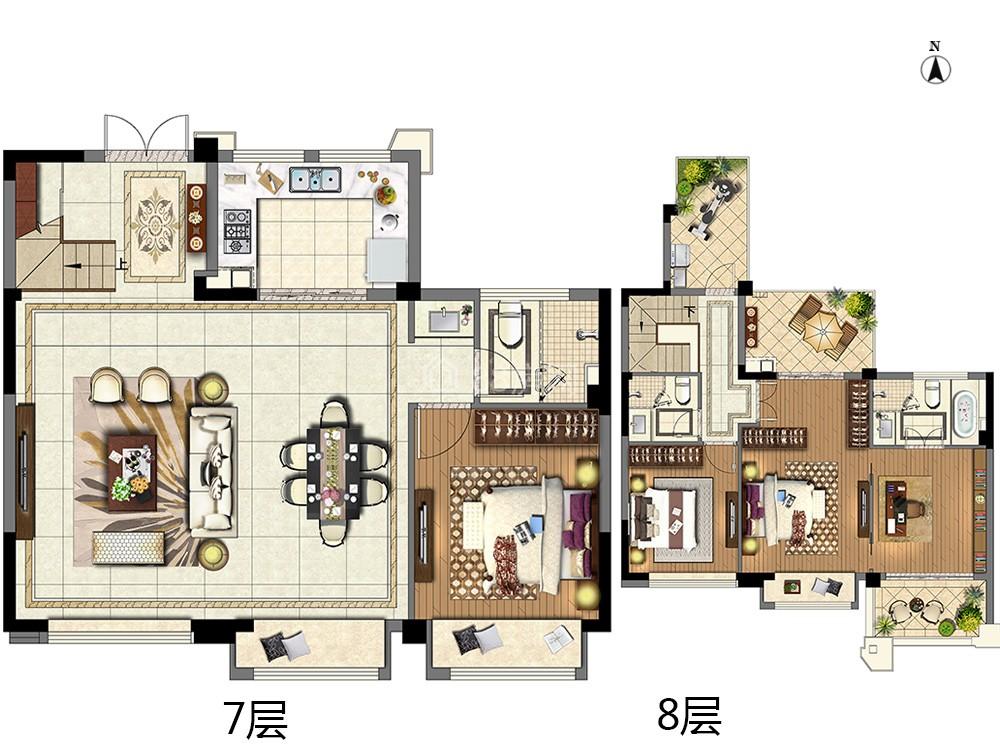 A4-三室两厅三卫