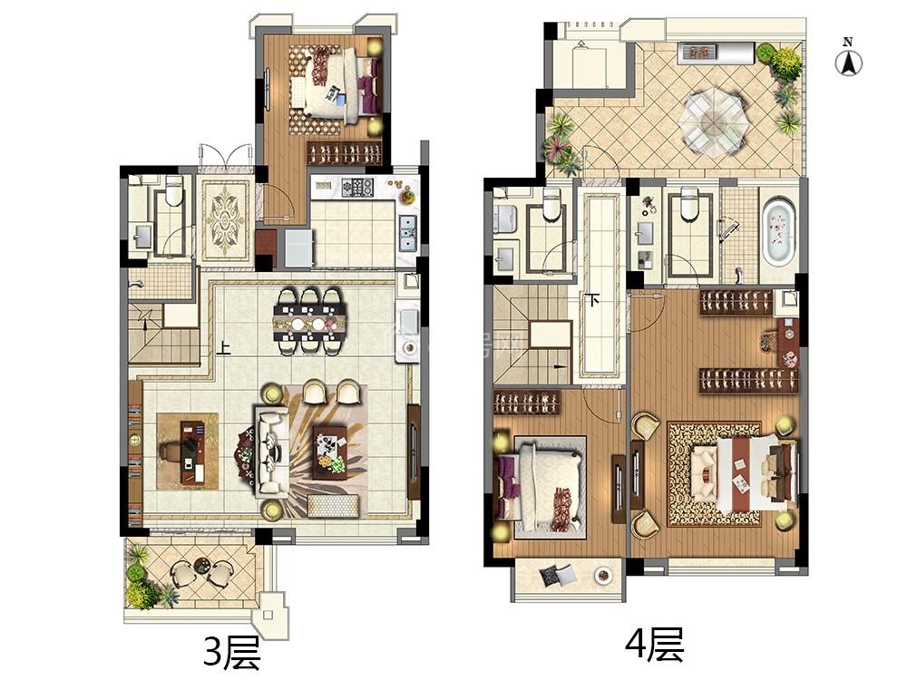 A6-三室两厅三卫