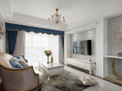 118㎡现代欧式三居室,轻盈而优雅,轻奢有品味的小资情调