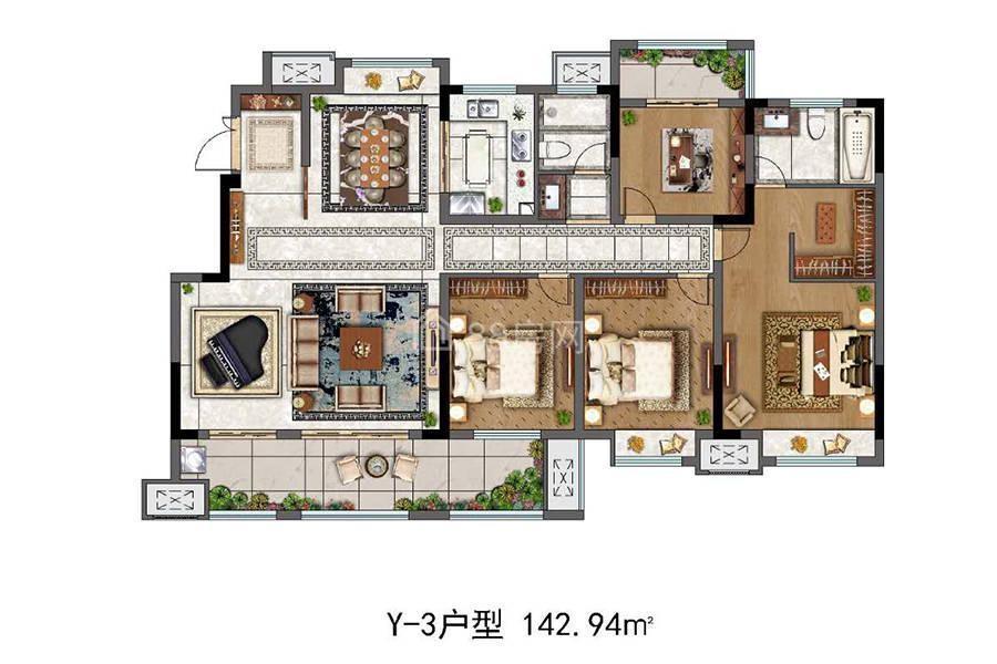 Y-3四室两厅两卫