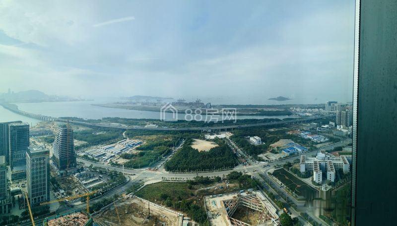 前海自贸区宝安中心区前海人寿金融中心特价120元纯看海景