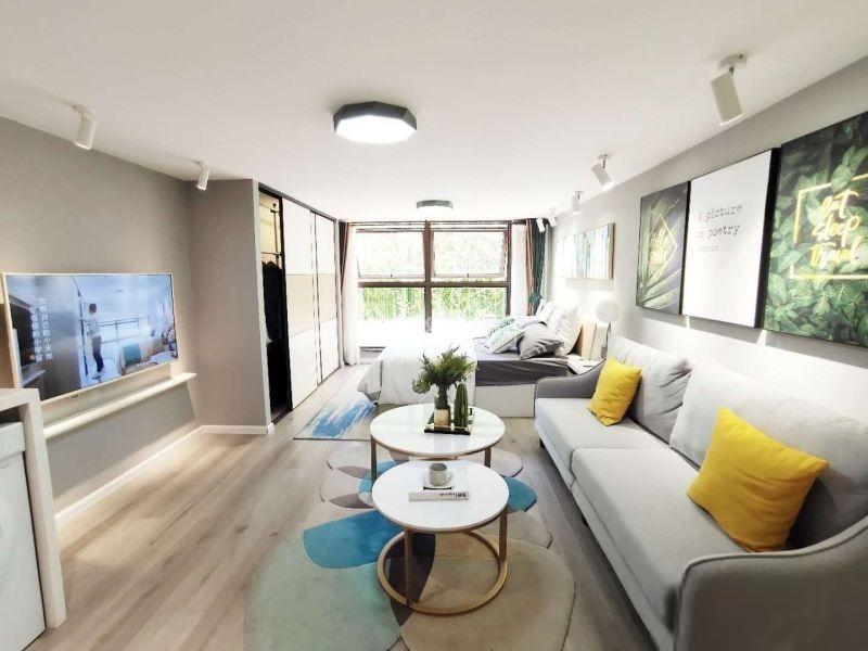 一线观滇海景公寓房可投咨可自住小投咨大钱景绿地健康城