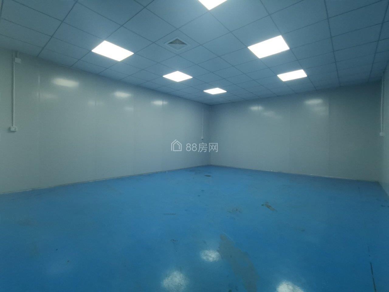 (实拍,带精装修,可分租)林村3780平米钢构独院厂房出租