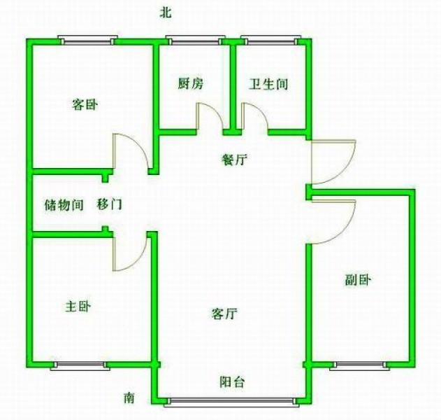 换房急售!新升新苑 精装三房、低于市场价 楼层适中、户型正气