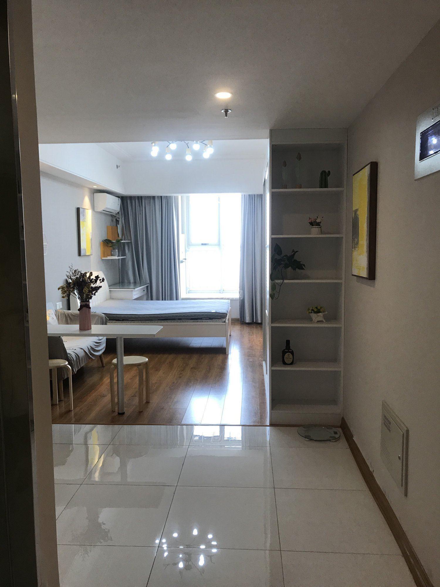 出租万达广出租58平米全新万达公寓 新房源 看房方便 有钥匙