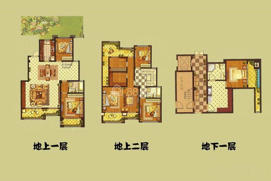 D2户型五室两厅两卫