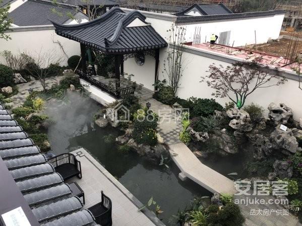 蓝城春风十里,中式合院精装修3房,花园120平,内部特惠房